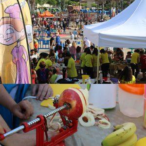 DIADA DEL JOC I LA FAMÍLIA amb taller de fruites @ Plaça del Mil·lenari, Platja d'Aro | Platja d'Aro | Espanya