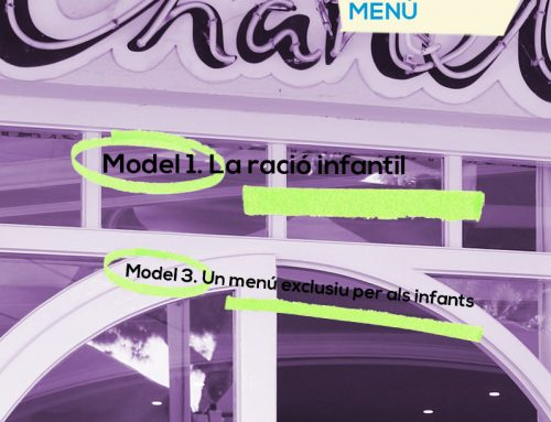 Chanel – Menú XICS 2017