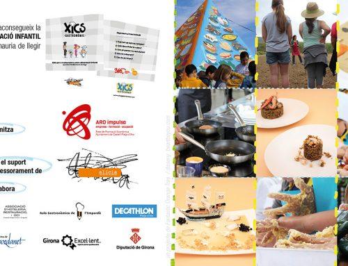 Fulletó de Xics Gastronòmic 2017 amb activitats i restaurants participants