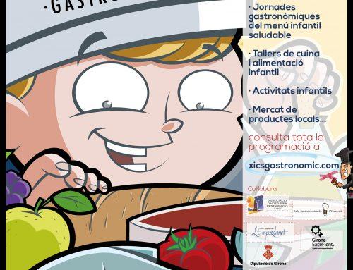Pòster de la 2a Quinzena Gastronòmica Infantil de Castell-Platja d'Aro i S'Agaró