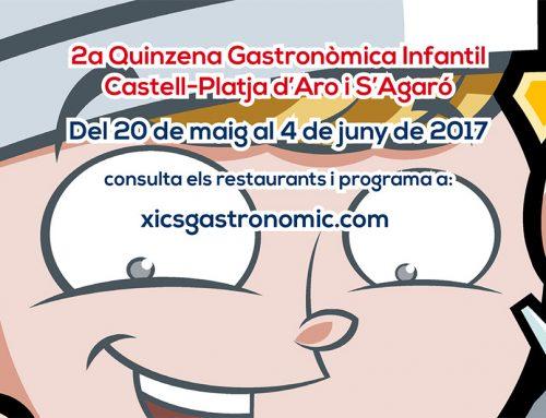 RESERVA DE TALLERS DE CUINA INFANTILS XICS GASTRONÒMIC 2017