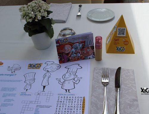 La proposta als restaurants Xics 2018