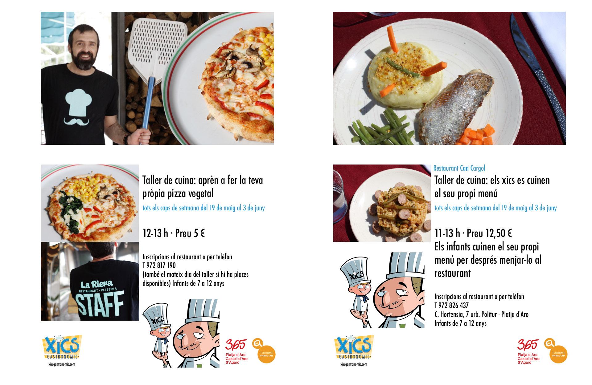 Tallers de cuina organitzats pels restaurants