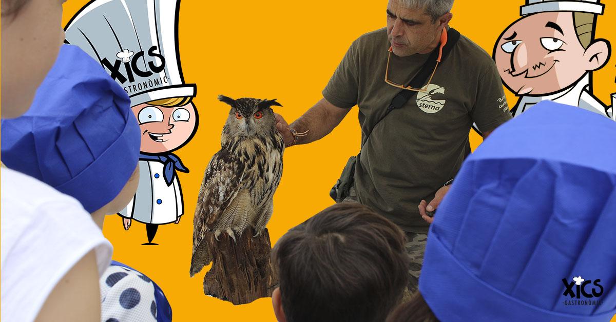 Diumenge 27 de maig – Taller de cuina i visita guiada al Parc dels Estanys