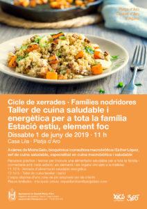 Taller de cuina saludable i energètica per a tota la família @ Casa Lila, Platja d'Aro