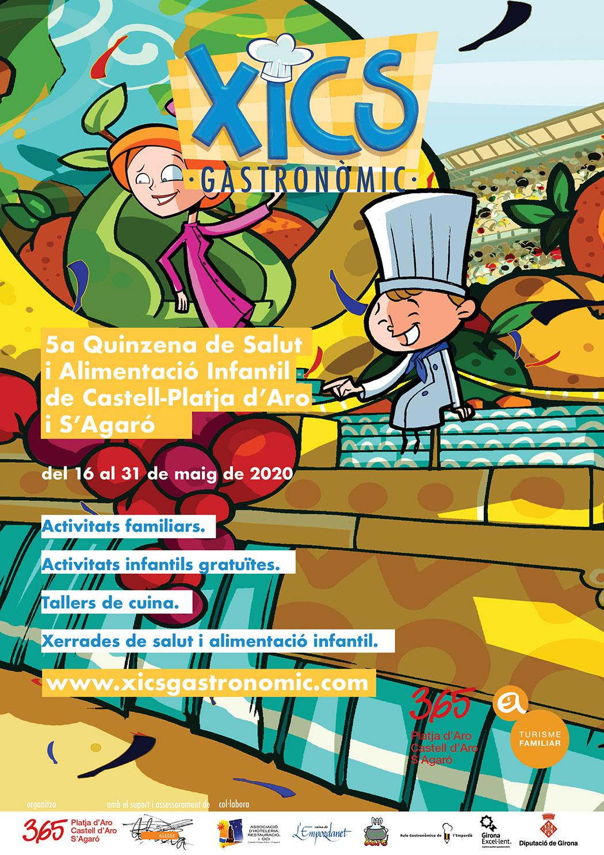 Pòster Xics Gastronòmic 2020